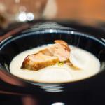 CILQ - フォアグラと菊芋のヴルーテ