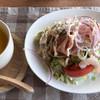 ボクノカフェ - 料理写真:スープ&サラダライス