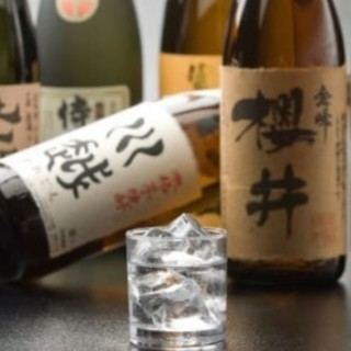 焼酎といったら九州。九州の色んな焼酎をそろえております!