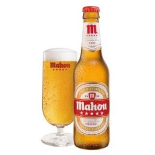 スペインビール「マオウ」