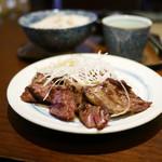 しずる - ハラミ焼き定食 ¥1,080