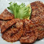 祇をん焼肉 茂  - 料理写真:特選上ロース たれ焼き(二人前)