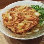 ふたば製麺 - 海鮮かき揚げうどん