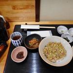 まご茶亭 - なめろう丼1500円