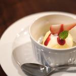BISTRO KANZO - イチゴのアイス