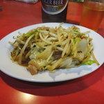 正来軒 - 野菜炒め