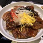 炭火焼肉 明翠園 - 豚カルビ丼