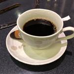 炭火焼肉 明翠園 - 食後のホットコーヒー