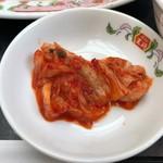 餃子の王将 - 小皿(キムチ)