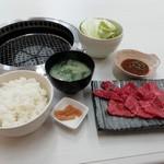 焼肉松坂 - オリーブ牛ランチ1,130円