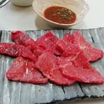 焼肉松坂 - モモ肉ですが馬い☆