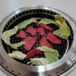 焼肉松坂 - 野菜も食べ野菜(パクリ)