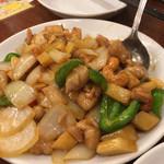 龍江飯店  - カシューナッツ炒め