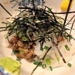 鳥恵 - イカ納豆