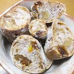 10269157 - イチジクと胡桃のパンの断面
