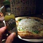でんDINING - しらすピッツァ
