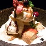 でんDINING - 石焼きデザート