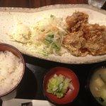10269872 - 鶏の唐揚定食(通常600円)
