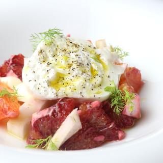 シチリアの食文化を伝える…。熱海の素材との融合を愉しんで。