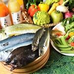 あったかキッチン まあるいおさら - [フードオアシスあつみ]による、地元産を中心とした、新鮮で旬の食材!
