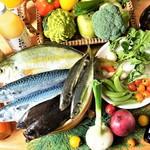 あったかキッチン まあるいおさら - 料理写真:[フードオアシスあつみ]による、地元産を中心とした、新鮮で旬の食材!