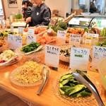 あったかキッチン まあるいおさら - 井戸端ランチカフェタイム、休日ごちそう食堂タイム限定!カラフルベジタブルビュッフェ!