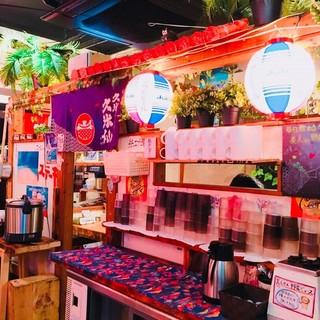 まるで沖縄!?元町で琉球の雰囲気を味わってください!
