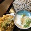 十割そば ひまわりの種 - 料理写真:野菜かき揚げそば  770円