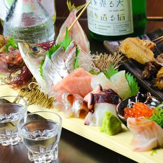 溢れる海と山の幸☆こだわり食材を使用した多彩なコースが豊富