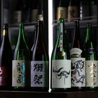【厳選】全50種類の日本酒飲み放題あり◎心ゆくまで酔いしれて