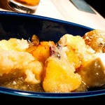 山の猿 - 豆腐の煮おろし