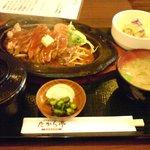 1027082 - 炙り焼きステーキ定食