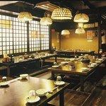 横浜すきずき - 堀式座敷は50名様までご利用できます。40名様以上で貸切にてご利用ください。