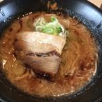 ラーメン番長 銀次郎 - 醤油ラーメン(細麺)