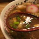 麺屋 あがら  - スープ