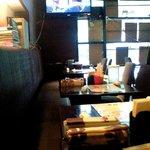 IndianRestaurant SONIA - 店内のテーブル席の風景です