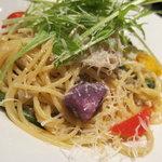 10271587 - 10種野菜としらすの八百屋さんスパゲティ(1,200円)