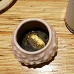 ペペロッソ - たことたこ墨のスープ