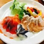 レストラン パルフェ - 大皿もりコース