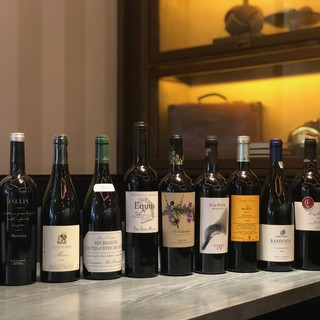 ビーチリゾートチックなワインセレクション