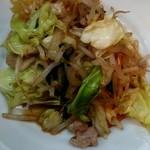 こづち食堂 - 肉野菜炒め