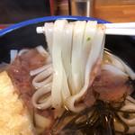 きしめん 寿々木屋 - 平麺