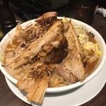 本気の焼豚 プルプル食堂 - 本気の炙りチャーシューラーメン