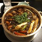 102730023 - 鶏鍋。八丁味噌味。