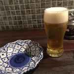 ガムランディー - ビールは100円アップ