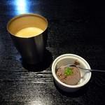 102736713 - ホットコーヒー&チョコアイス(19/02)
