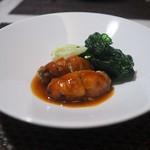102737488 - 「広島県産牡蠣の肉巻き甘酢ソース」