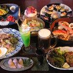 なかまっこ - ご予約にてコース料理も、ご希望のお値段に応じます。鍋付きコースは3,000円~。