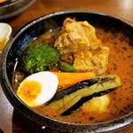 らっきょ&Star - 三限豚 角煮と野菜のスープカレー  1,500円