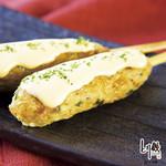 チーズソースつくね串(1本)